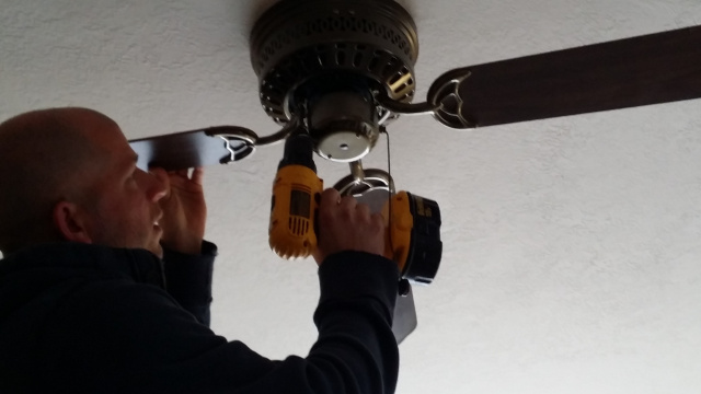 used ceiling fans capacitor once all the blades are removed from ceiling fan remove brackets that attached to blades used power drill speed up this process painting ceiling fan blades